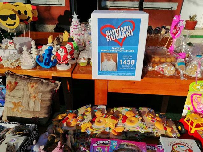 Bileća - humanitarni bazar - Foto: SRNA