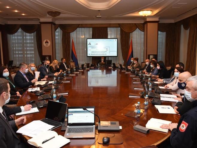 Republički štab (Foto:Vlada Republike Srpske) -