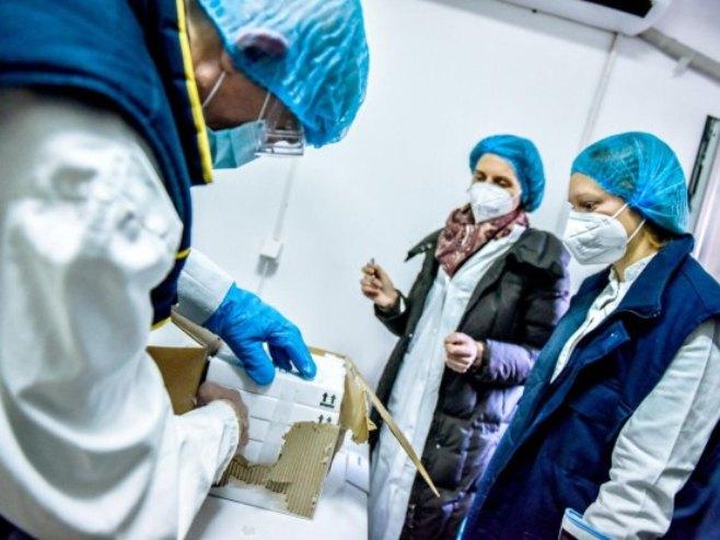 Skladištenje vakcina u Torlaku (foto: Ministarstvo zdravlja Srbije) -