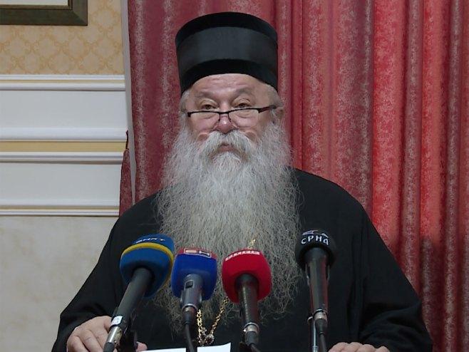 Mitropolit Hrizostom - Foto: SRNA
