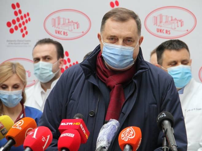 Milorad Dodik (Foto: Aleksandar Golić/RAS Srbija) -