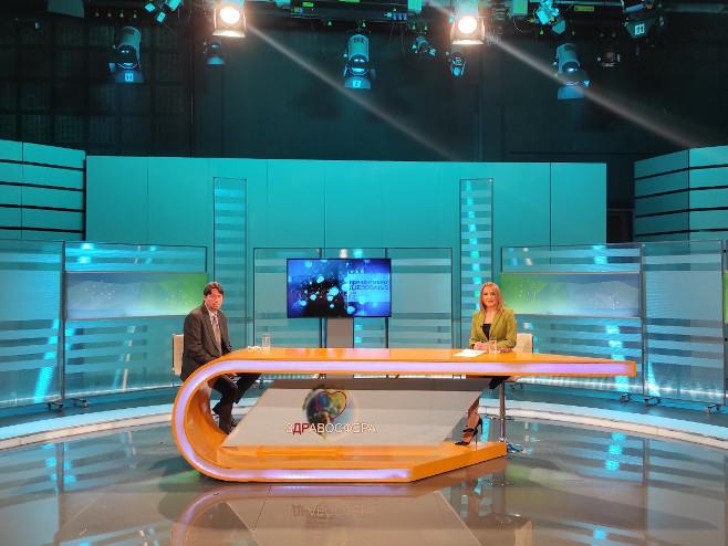 Zdravosfera: Gost Dejan Bokonjić - Foto: RTRS