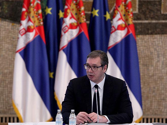 Aleksandar Vučić (@sns_srbija) - Foto: Twitter