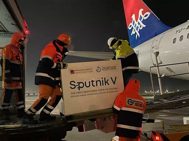 """Vakcine """"Sputnjik V"""" (foto:Sputnik / Olivera Ikodinović) -"""