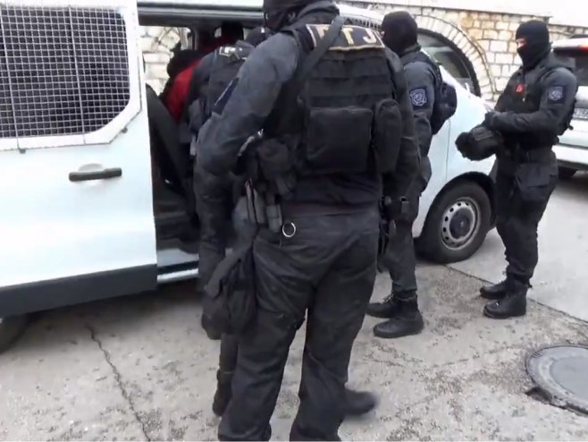 Hapšenja u Crnoj Gori (foto: twitter.com/PolicijaCG) -