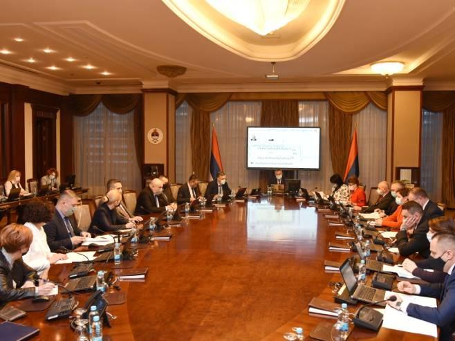 Sjednica Vlade Republike Srpske (Foto: Vlada_Srpske) -