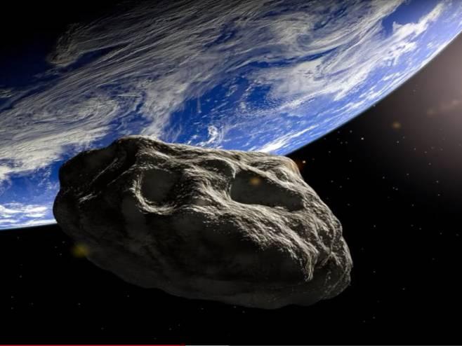 Asteroid 2001 FO32 - Foto: Screenshot