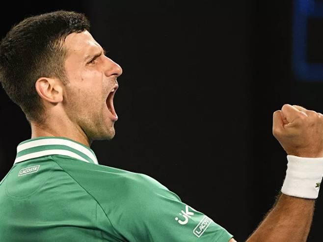 Novak Đoković (Foto: sputniknews.com) -
