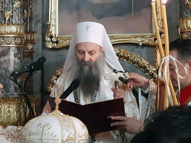 Njegova svetost Porfirije - Foto: SRNA