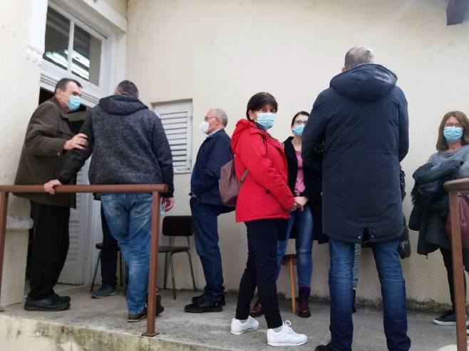 Vakcinacija u Trebinju - Foto: SRNA