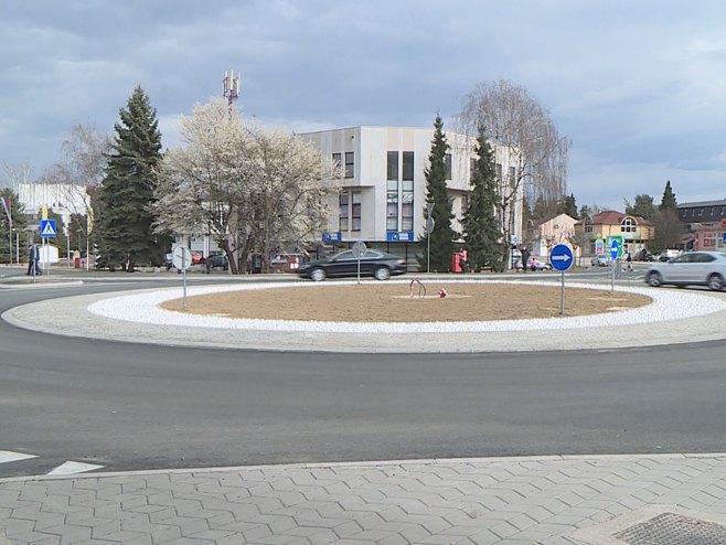 Laktaši - kružni tok - Foto: RTRS