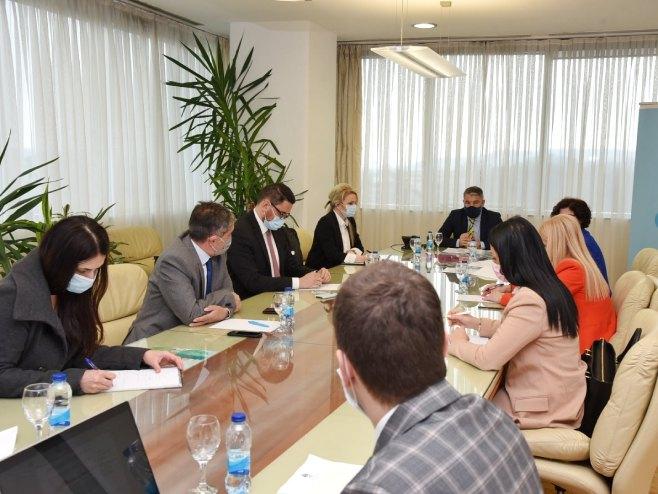 Krizni štab za praćenje epidemiološke situacije (foto: Ministarstvo zdravlja i socijalne zaštite Srpske) -