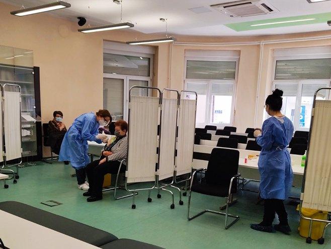 Banjaluka - vakcinacija - Foto: RTRS
