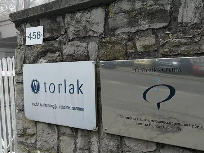 Institut Torlak (foto: Sputnik / Radoje Pantović) -