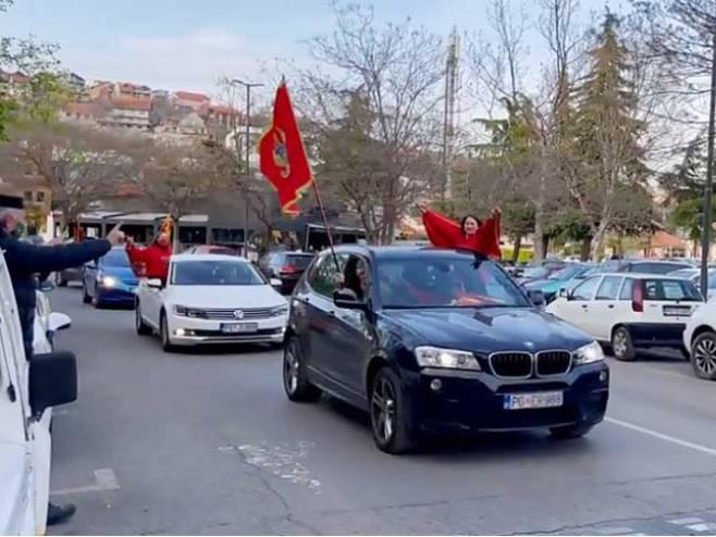 """""""Crnogorsko proljeće"""" traži ostavku Krivokapićeve Vlade - Foto: Glas Srpske"""