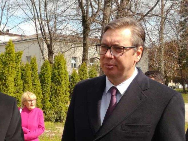 Aleksandar Vučić - Foto: RTRS