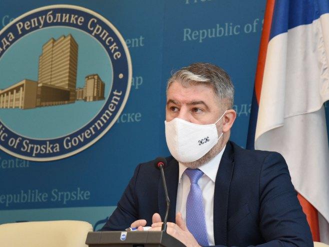 Alen Šeranić pres konferencija - Foto: RTRS