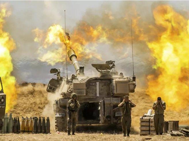 Izrael razmatra kopnenu invaziju na Gazu (Foto: © Tanjug / AR/Yonatan Sindel) -