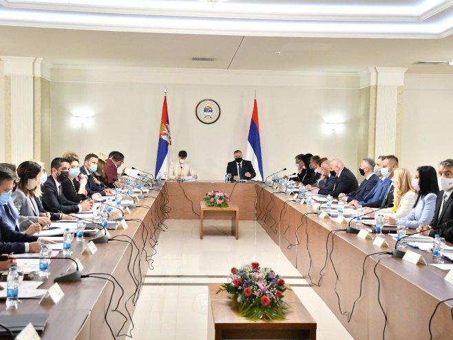 11. zajednička sjednica vlada Republike Srpske i Srbije (foto: twitter.com/Vlada_Srpske) -