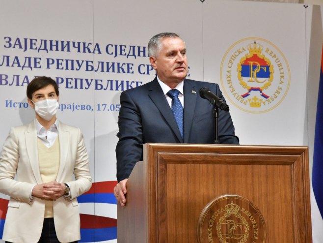 Radovan Višković (foto: twitter.com/Vlada_Srpske) -