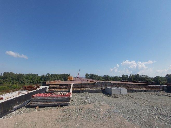 Gradnja mosta na Savi - Foto: RTRS
