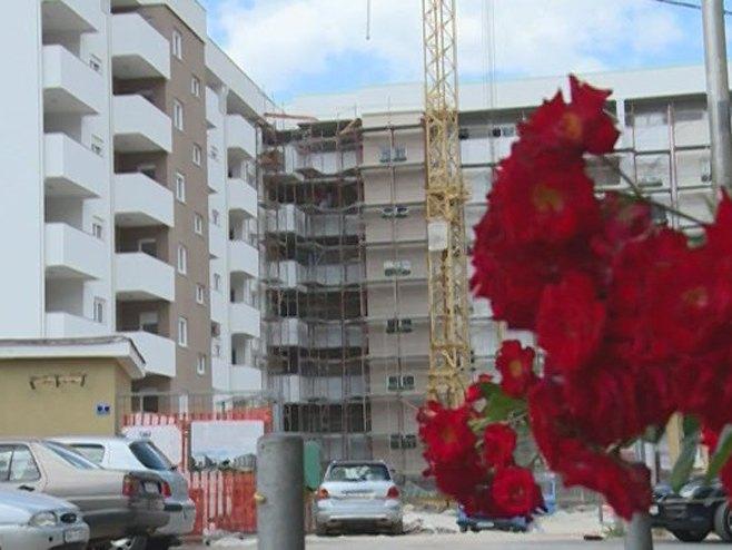 Trebinje - gradnja stanova - Foto: RTRS
