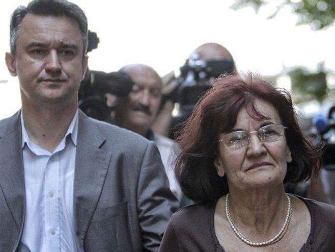 Darko i Bosiljka Mladić - Foto: AP