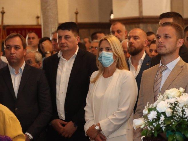 Cvijanović, Stanivuković, Radović i Selak - Foto: RTRS