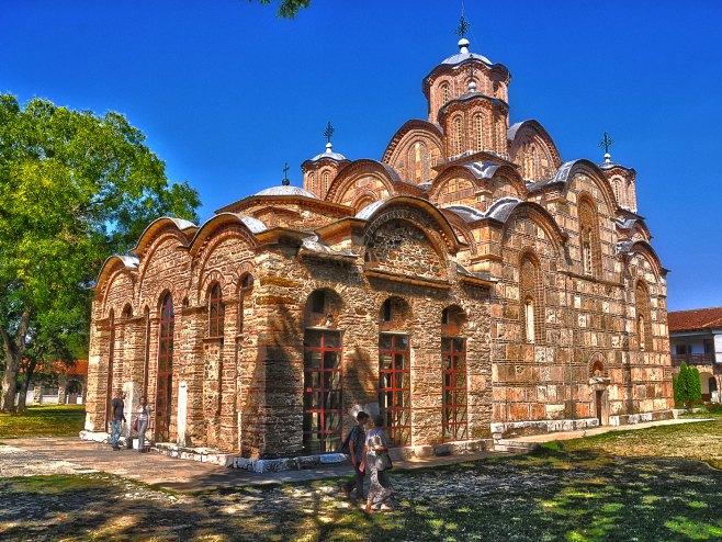 Manastir Gračanica (Foto: Wikipedia / Sasa Micic) -