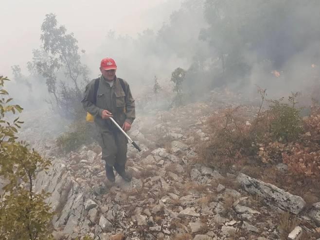 Požar, Bileća (Foto: radio_bileca) - Foto: Instagram