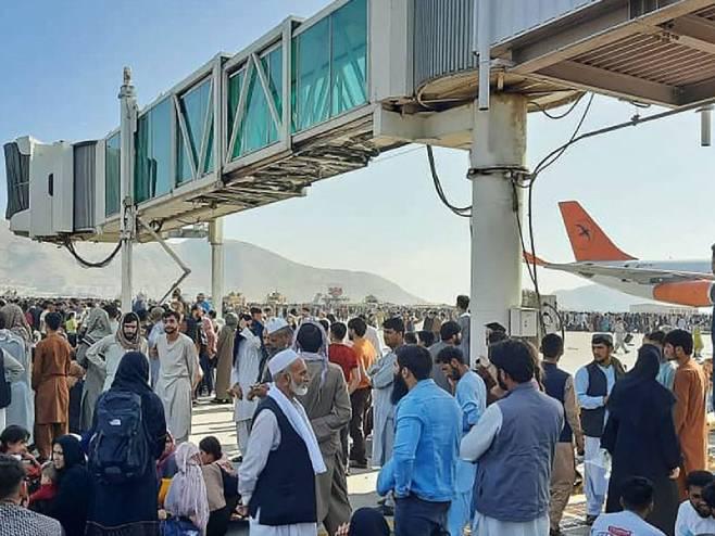 Aerodrom u Kabulu - Foto: Twitter