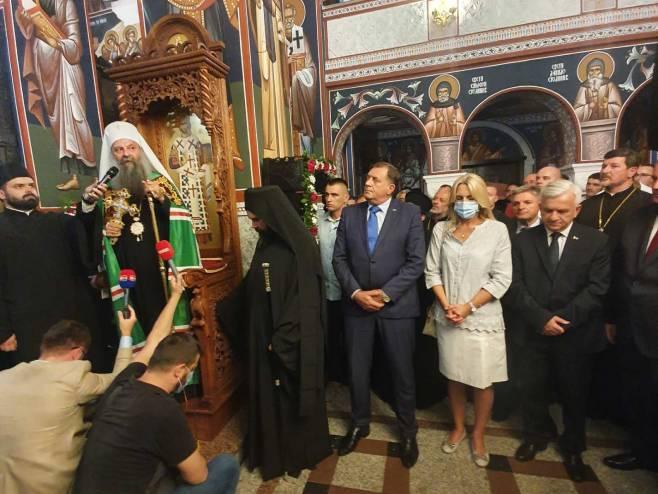 Patrijarh u Doboju - Foto: RTRS