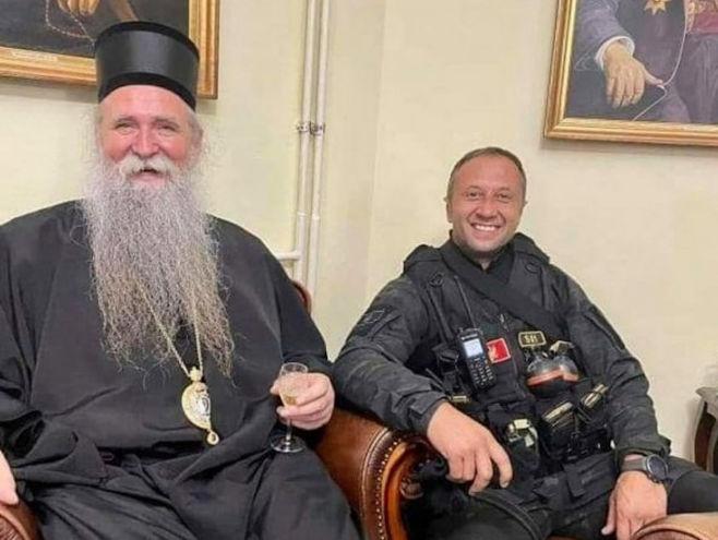 Mitropolit Joanikije i Petar Knežević (Foto: V.K) -